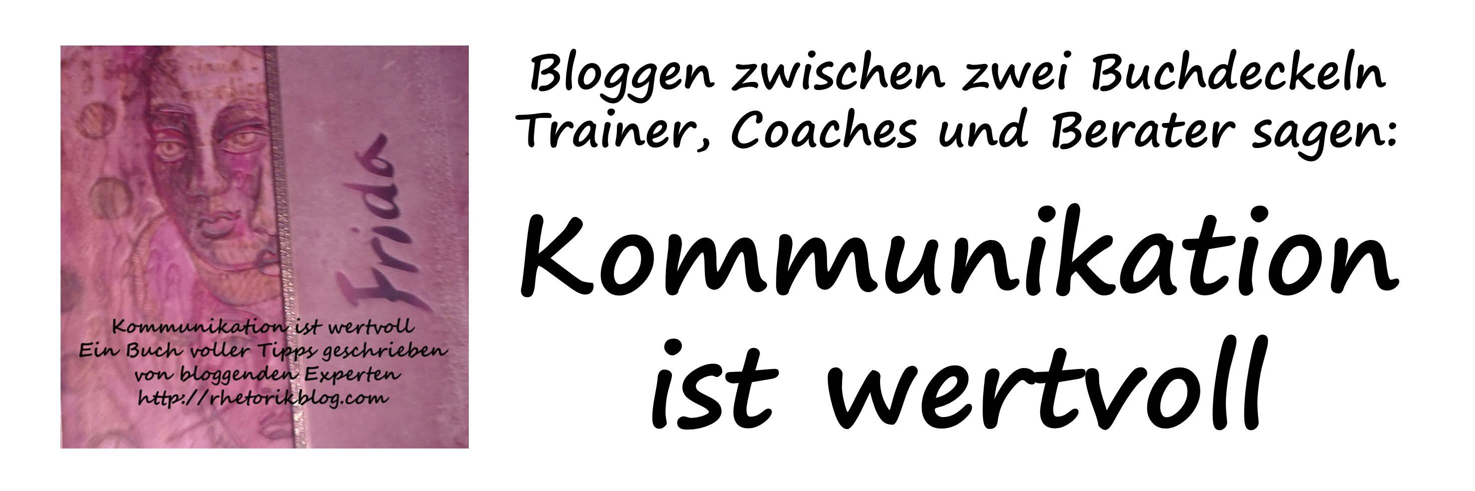 Logo-Titelbild für Kommunikation ist wertvoll