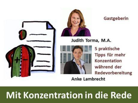 Aufzeichnung vom Webinar mit Anke Lambrecht